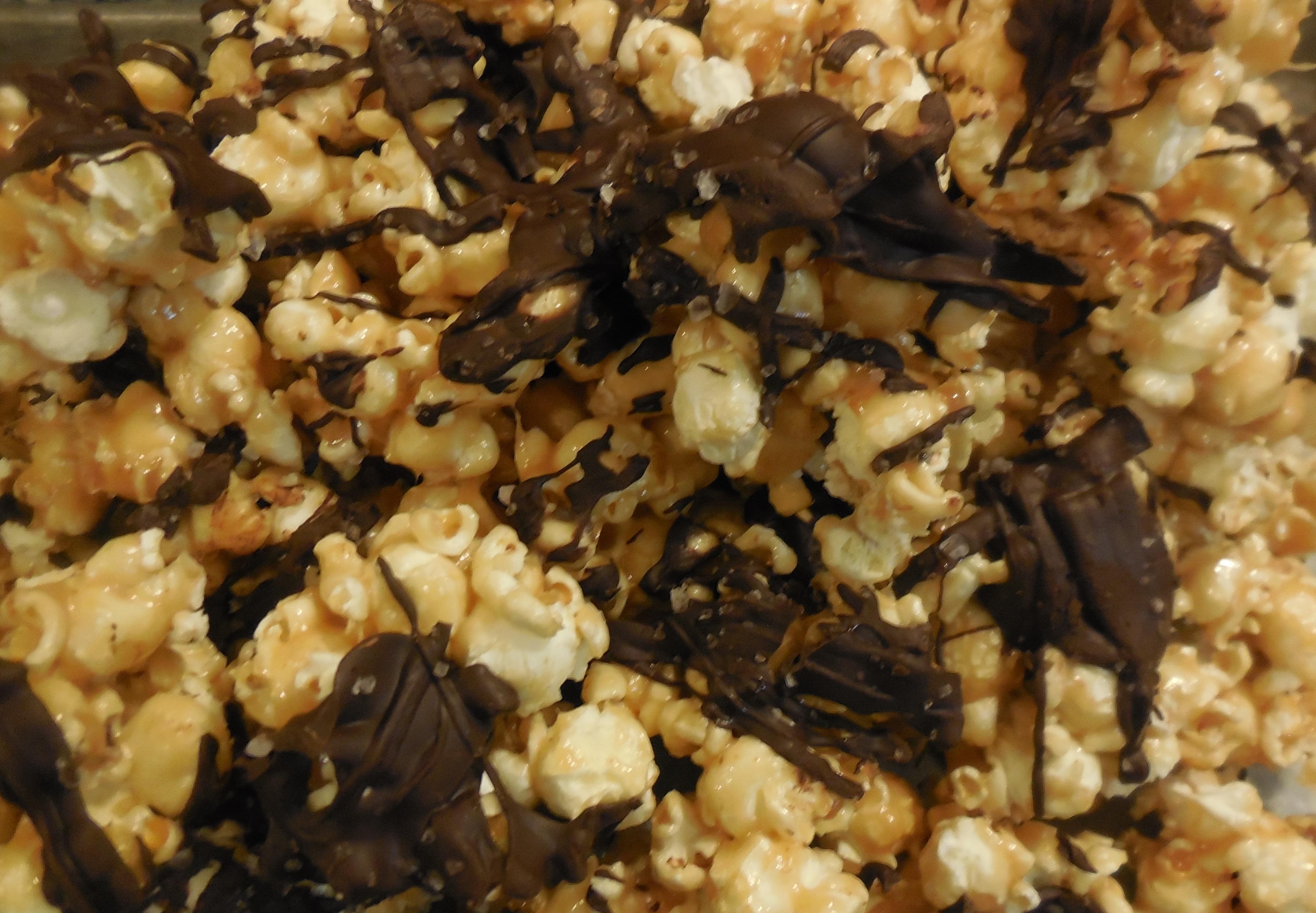 Salted Dark Chocolate Popcorn Recipes — Dishmaps