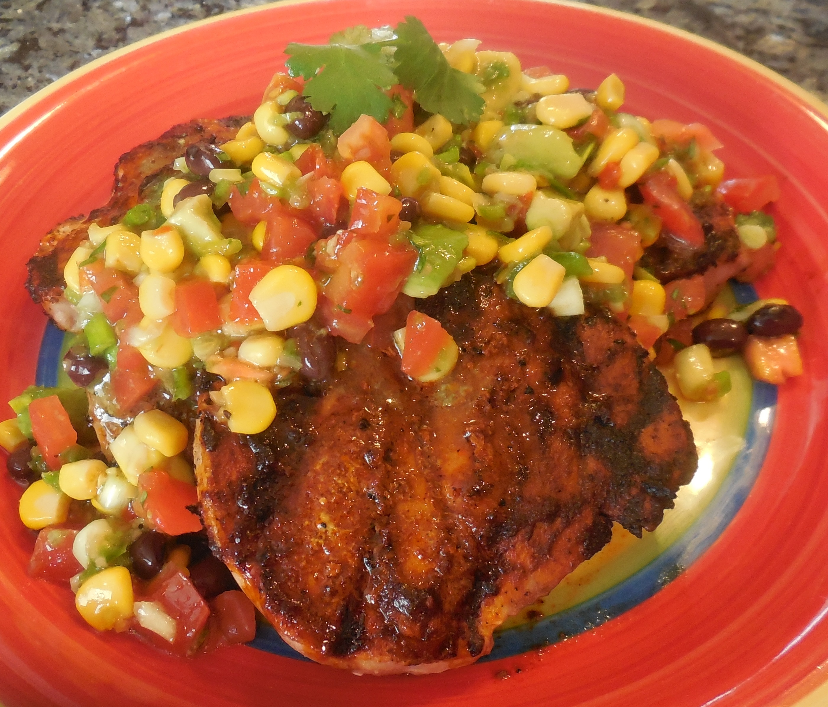 pork chops with caribbean rub chili rubbed pork chops recipe chili ...