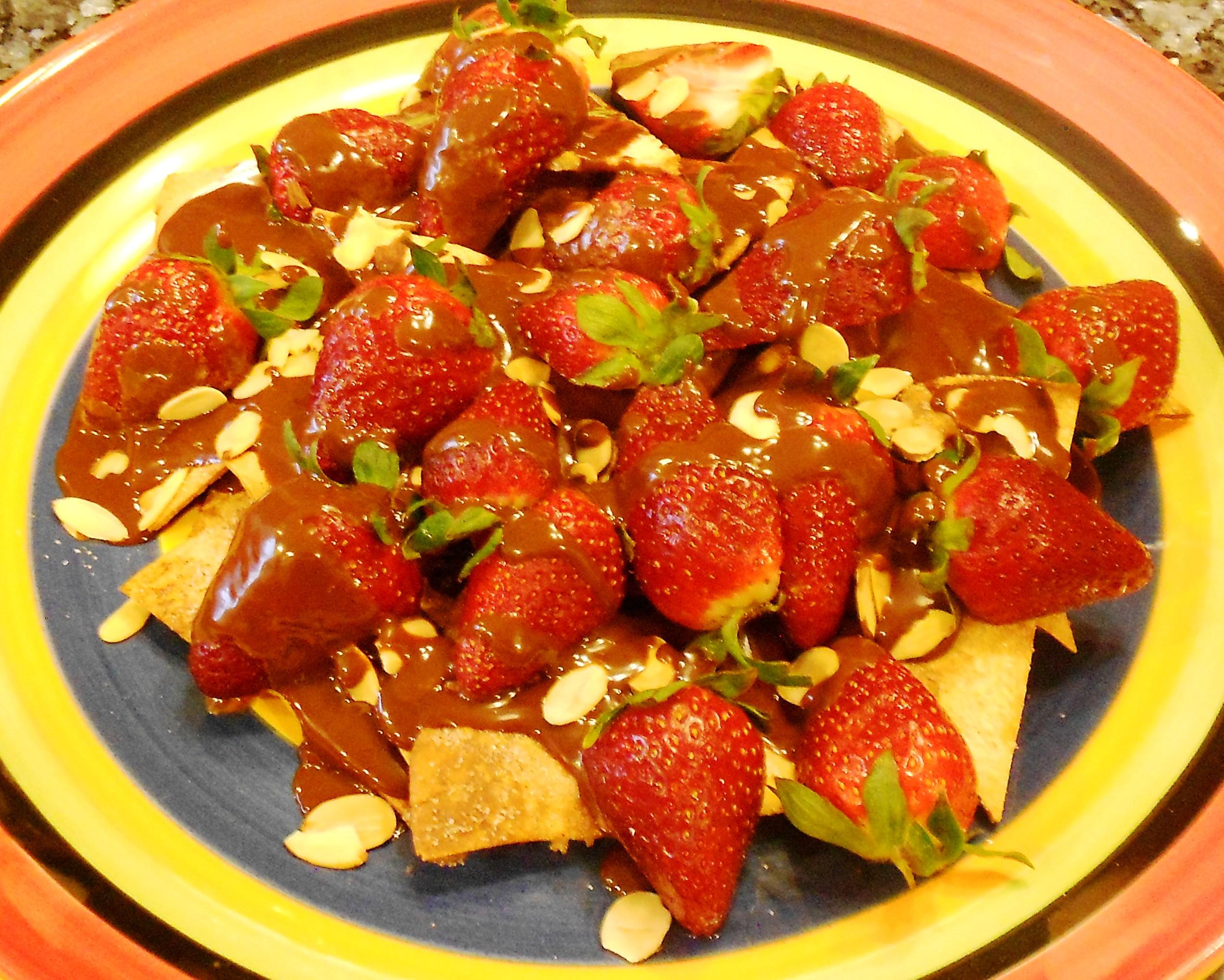 Spicy Mexican Dessert Nachos Recipe