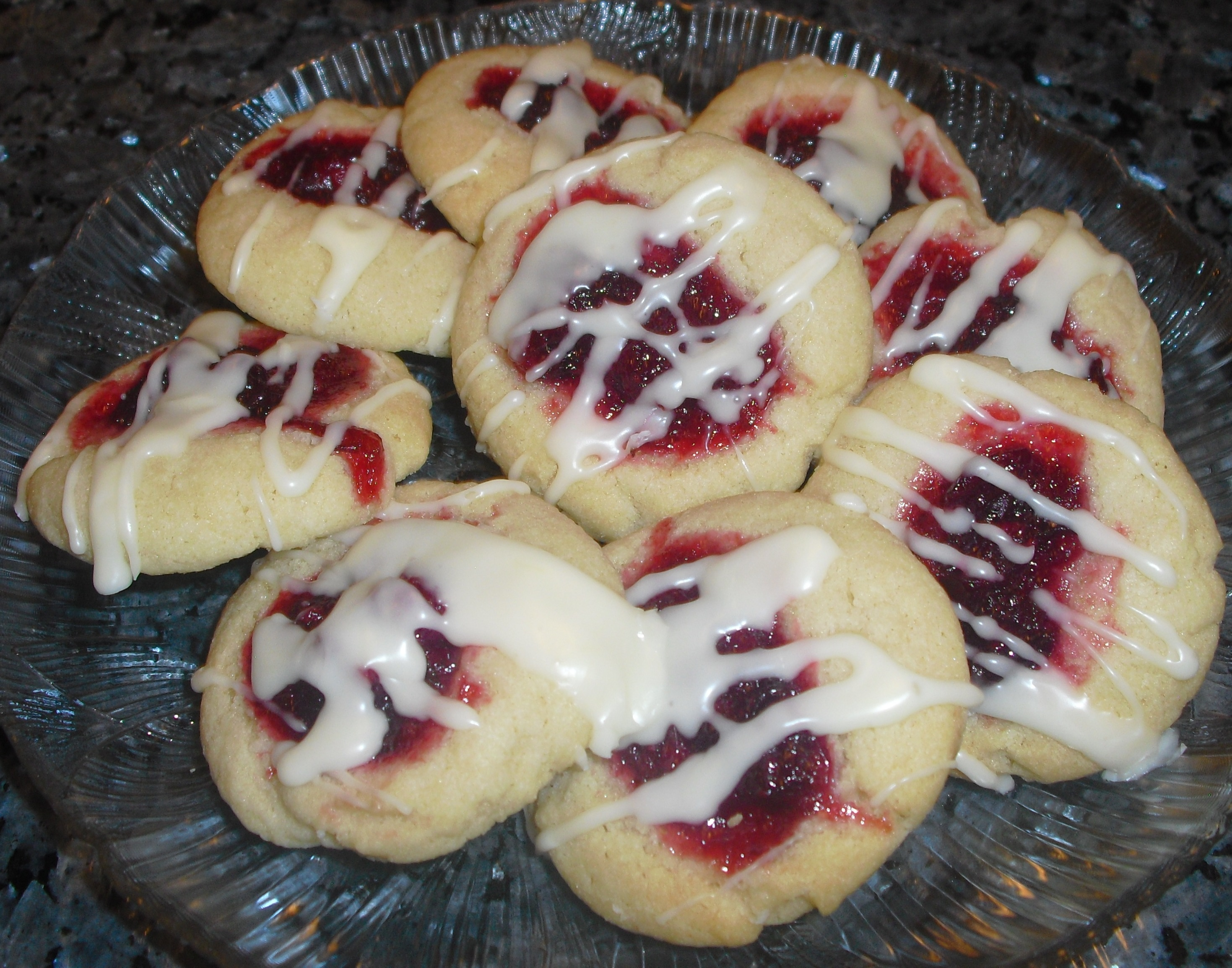 Christmas Cookies Day 10 - Cran Orange Thumbprints - Quick Cooking