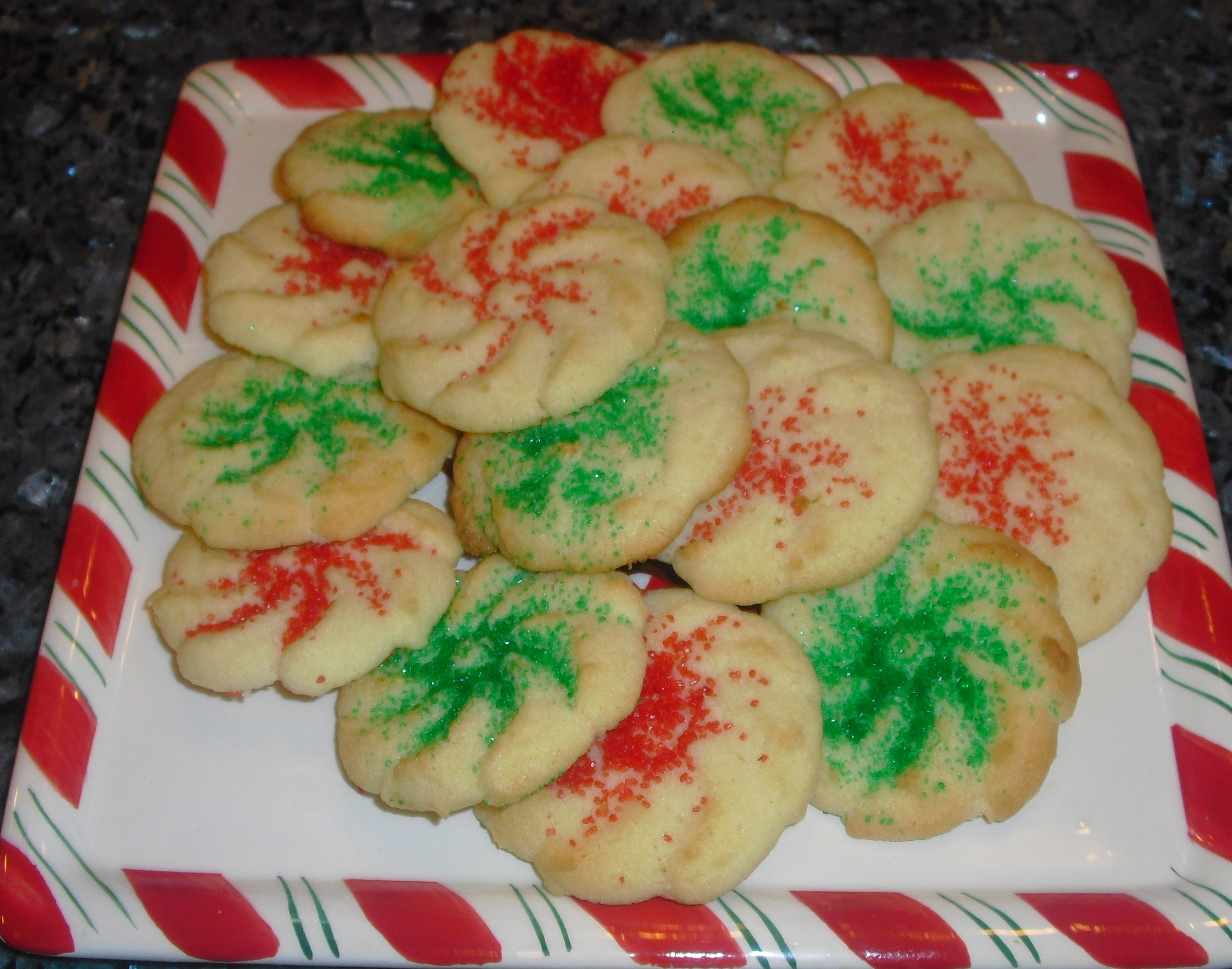 Christmas Cookies Day 7 Pressed Butter Cookies Quick Cooking
