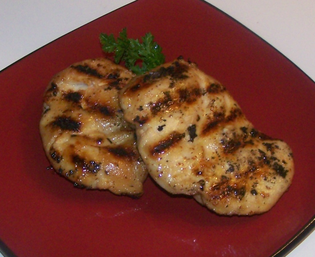Grilled Indonesian Chicken Breasts Recipe — Dishmaps