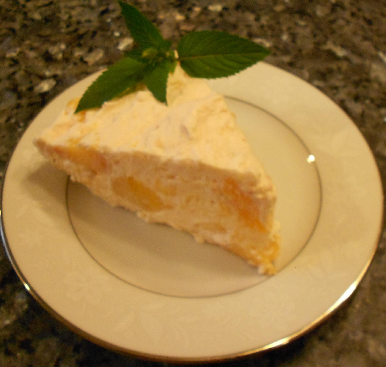 Easy no bake peach pie recipe