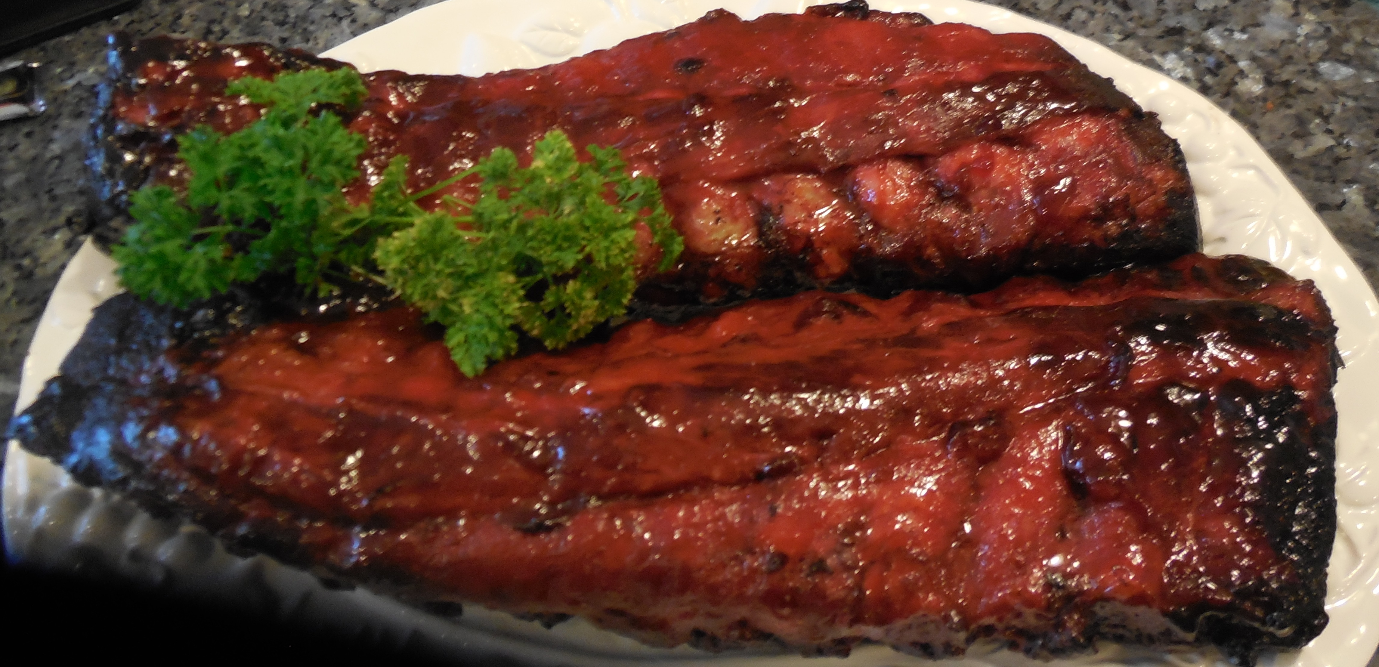 how to cook quickly pork back ribs bbq