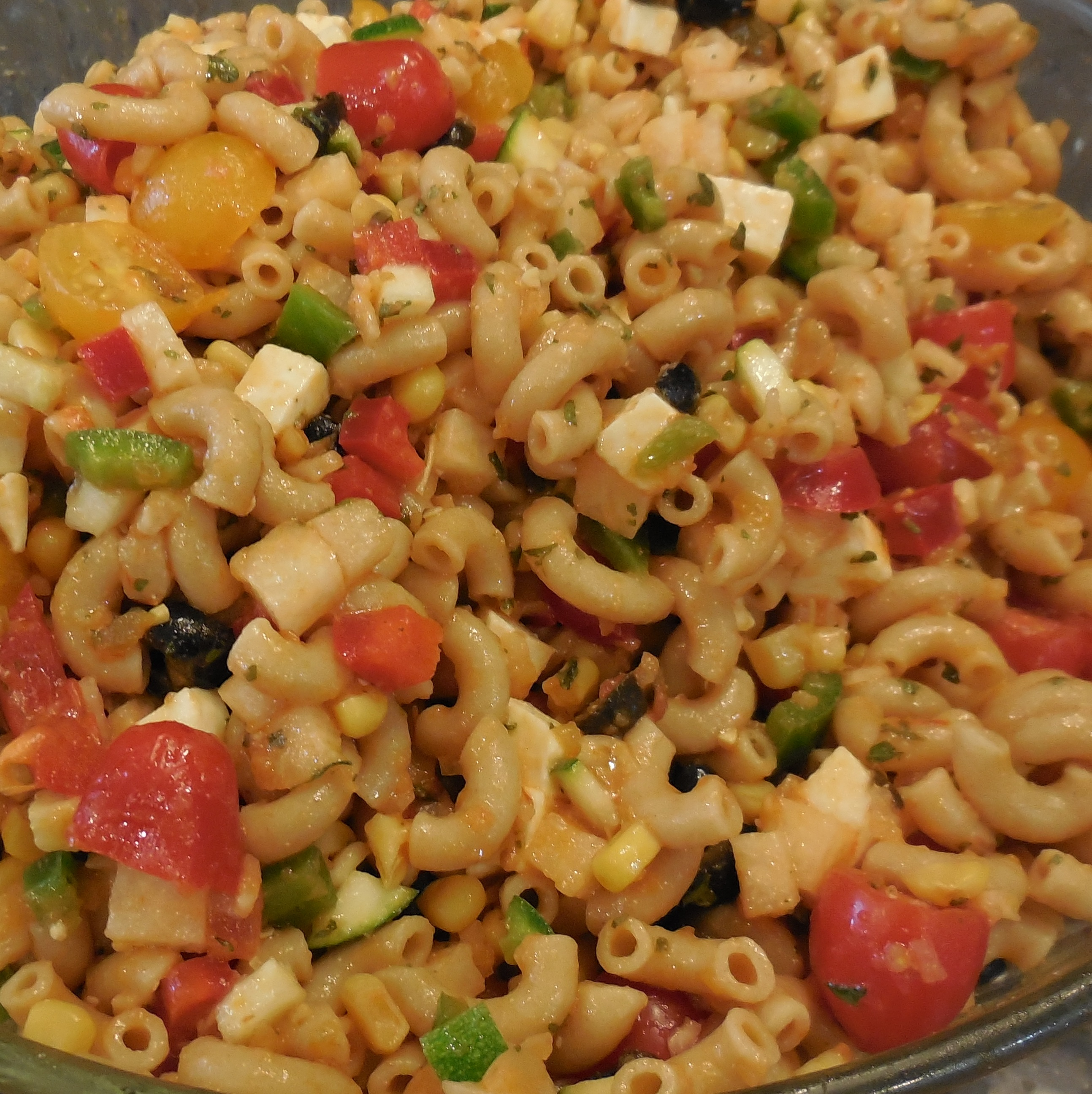 Make-Ahead Mexican Macaroni Salad Recipe - Quick Cooking