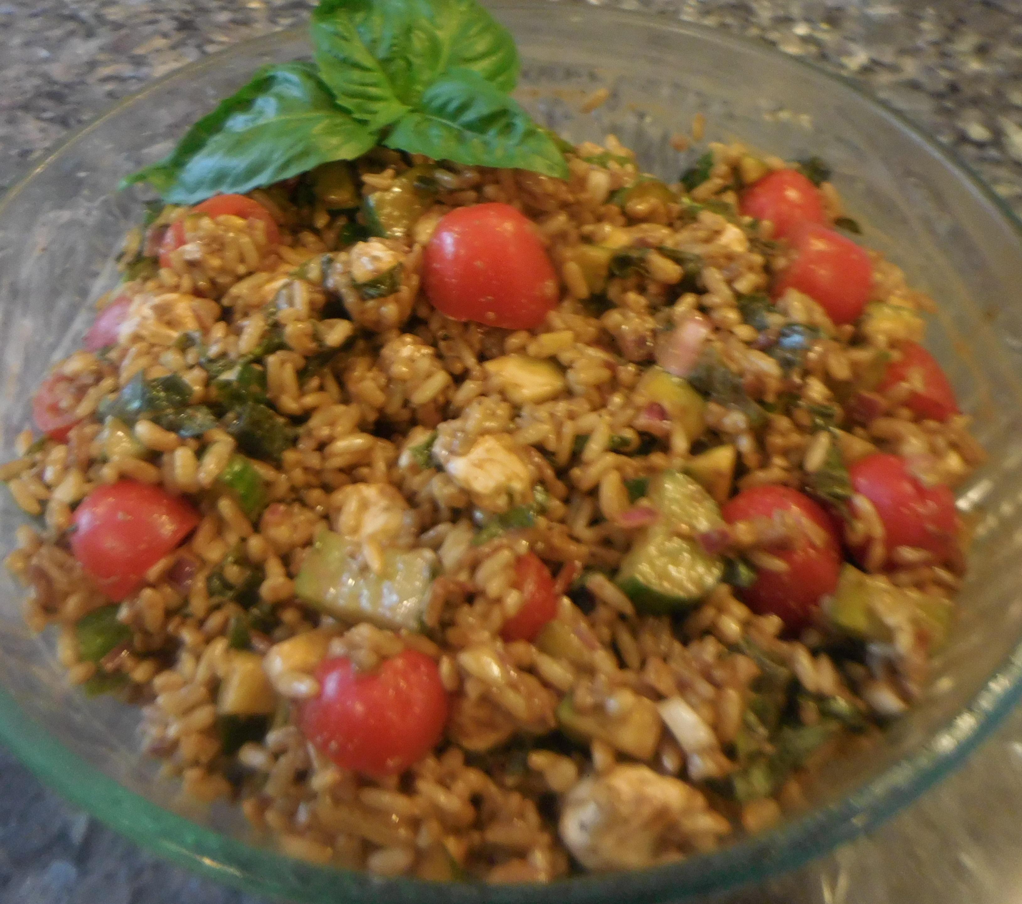 Summer Mixed Grain Salad Recipe - Quick Cooking