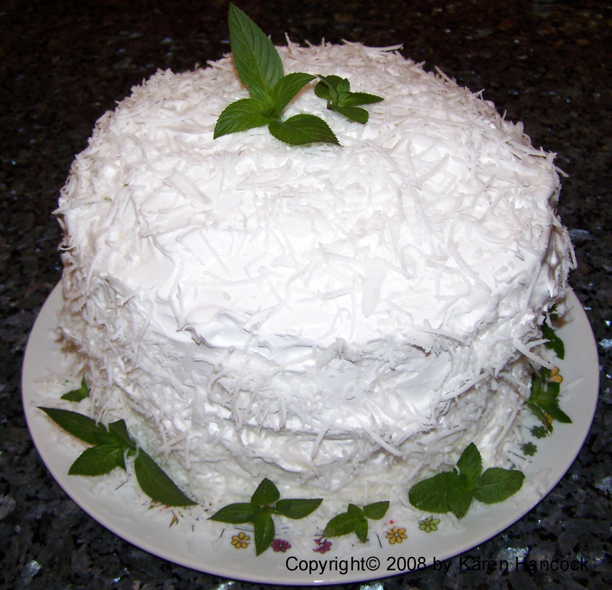 Southern Coconut Cake Recipe