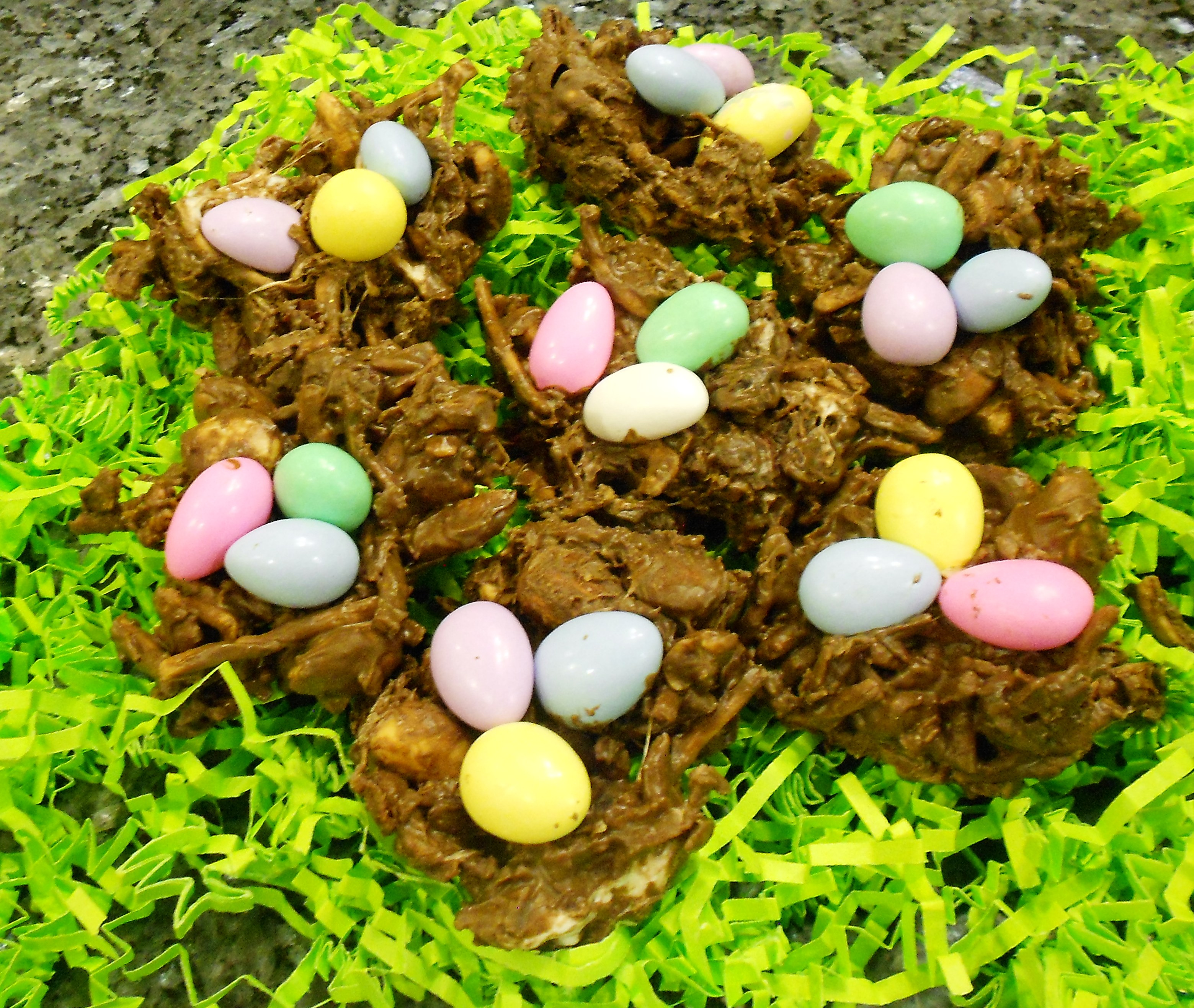 Last Minute Little Chocolate Easter Nests Recipe