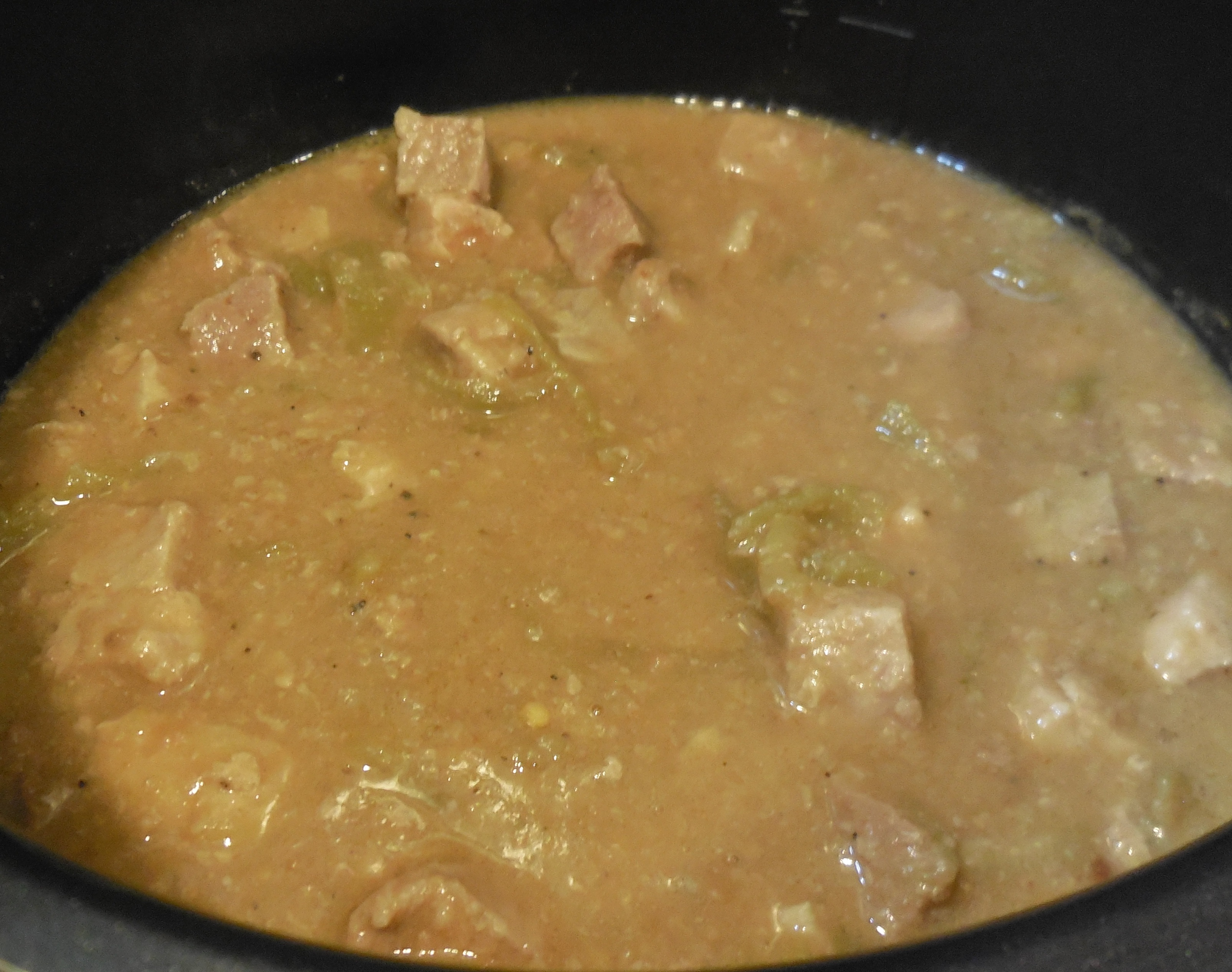 Authentic Chile Verde, Slow Cooker  Style